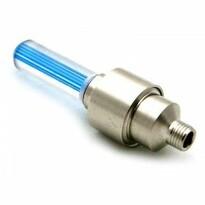 Svítící ventilky modrá