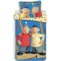 Dětské bavlněné povlečení Pat a Mat blue 03, 140 x 200 cm, 70 x 90 cm