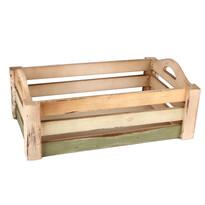 Dřevěna přepravka 38 x 25 x 13 cm