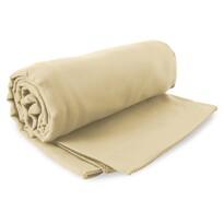 DecoKing Fitness Ręcznik Ekea beżowy