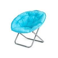 Happy Green fotel składany ANZIO jasnoniebieski