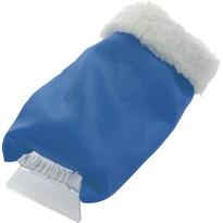 Autoškrabka s rukavicou, modrá