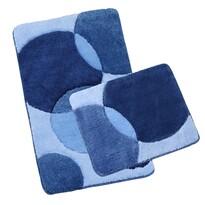 Komplet dywaników łazienkowych Ultra bąbelki, 60 x 100 cm, 60 x 50 cm