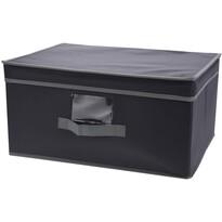 Textilná úložná krabica 31 x 28 x 15 cm