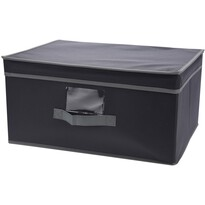 Textilní úložná krabice 31 x 28 x 15 cm