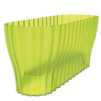 Skrzynka Triola przejrzysta zielona