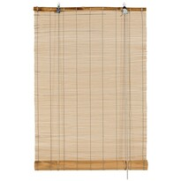 Stor din bambus, stejar, 60 x 180 cm
