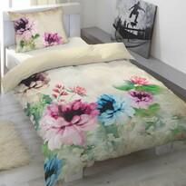 Saténové obliečky Lotus Garden, 140 x 200 cm, 70 x 90 cm
