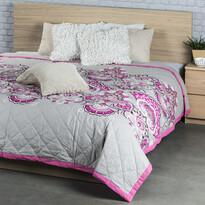 Narzuta na łóżko Laissa różowy