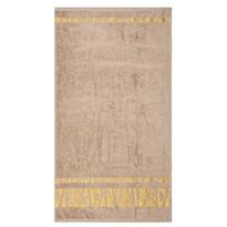 Prosop Bamboo Gold maro deschis, 50 x 90 cm