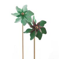 Větrník zelená, pr. 17 cm