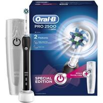 Oral-B PRO2500 CA Black Elektrický zubní kartáček, černá