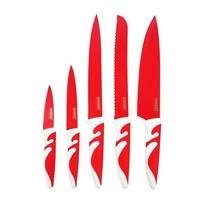 Banquet SYMBIO Rosso sada nožov s nepriľnavým pov rchom 5 ks