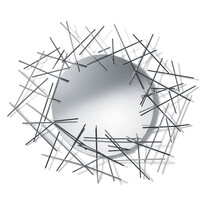 Zrkadlo Blow Up strieborné