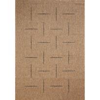 Kusový koberec Floorlux coffee/black 20008