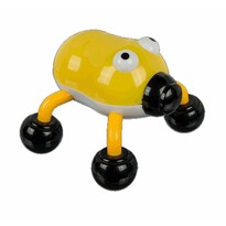 Instrument de masaj vibrant Gândac, galben