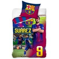 Lenjerie de pat FC Barcelona Suárez, 140 x 200 cm, 70 x 80 cm