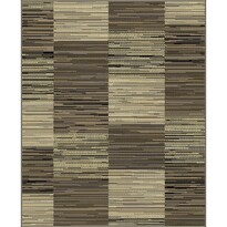 Habitat Kusový koberec Monaco kostka 6310/2213 hnědá, 115 x 165 cm