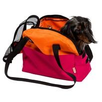 Transportní taška Boseň Lux malinovo-oranžová, 30 cm