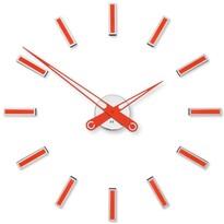 Future Time FT9600RD Modular red Designové samolepicí hodiny, pr. 60 cm