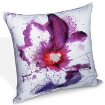 Obliečka na vankúšik Loja purpurová, 45 x 45 cm