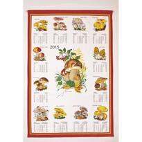 Textilný kalendár 2015 Huby, 45 x 65 cm