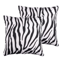 4Home povlak na polštářek Zebra, 40 x 40 cm, sada 2 ks