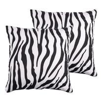 4Home Zebra párnahuzat, 40 x 40 cm, 2 db-os szett