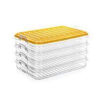 Set caserole de plastic Banquet EASY CLICK 4 buc