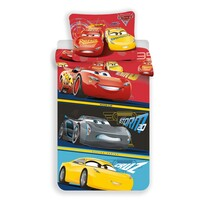 Detské bavlnené obliečky Cars 3, 140 x 200 cm, 70 x 90 cm