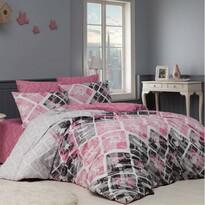 BedTex pamut ágyneműhuzat rózsaszín Riviére