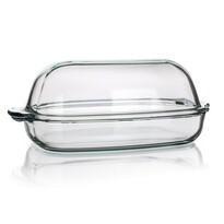 Simax Naczynie szklane prostokątne z pokrywką 8 l