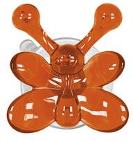 Kleine Wolke Wieszak Crazy Hooks motylek, pomarańczowy