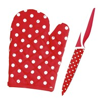 Nóż teflonowy z rękawicą kuchenną GRATIS