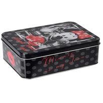 Mickey Mouse Úložný plechový box Minnie, čierna