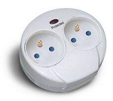 Solight PO25 ogranicznik przepięć do kontaktu biały,