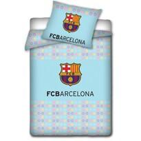 Detské bavlnené obliečky do postieľky FC Barcelona light, 100 x 130 cm, 40 x 60 cm