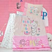 Detské bavlnené obliečky do postieľky Cakes, 100 x 135 cm, 40 x 60 cm