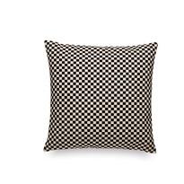 Poduszka dekoracyjna Checker 43 x 43 cm, czarno-biały