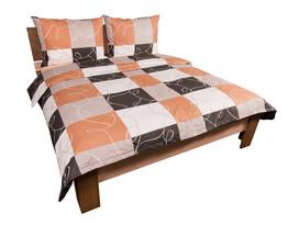 Bavlnené obliečky Šachovnica, 140 x 200 cm, 70 x 90 cm