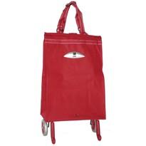 Gimi Brava nákupná taška na kolieskach červená