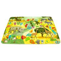Dětský koberec safari, 76 x 117 cm