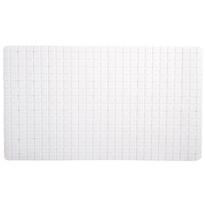 Protiskluzová podložka do koupelny bílá, 69 x 39 cm