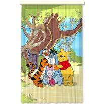Dětský závěs Medvídek Pú, 140 x 245 cm