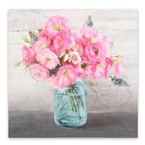 Obraz na płótnie Różowe kwiaty
