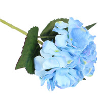 Buchet artificial Hortenzie, albastru