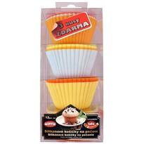 12-częściowy silikonowy zestaw do muffinów