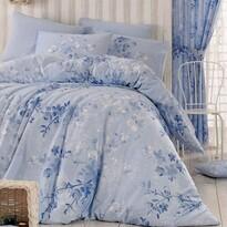 Homeville Bavlněné povlečení Elena blue