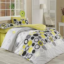 Bavlnené obliečky Beneton Yellow