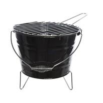 BBQ gril čierna, pr. 27 cm